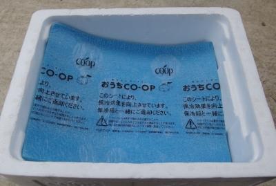 生協の冷凍シート