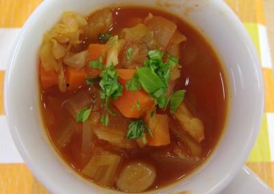 トマトの旨みスープ