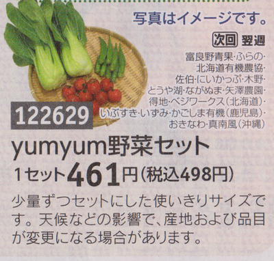 umyum野菜セット
