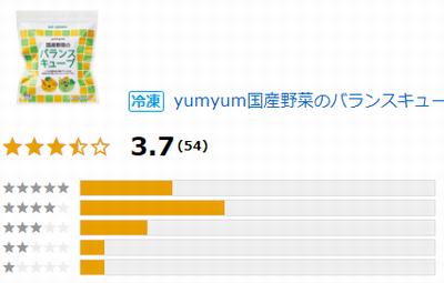 yumyum国産野菜のバランスキューブのクチコミ