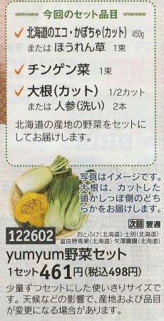 yumyum野菜セット